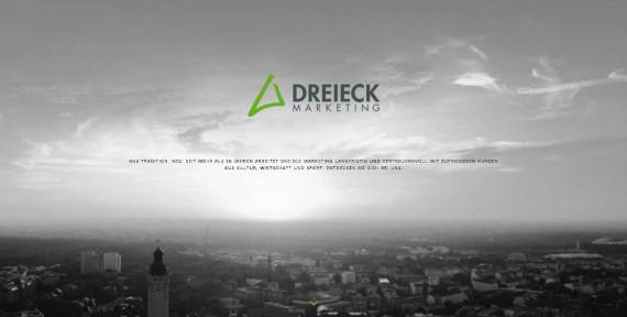 DREIECK MARKETING – einmal neu