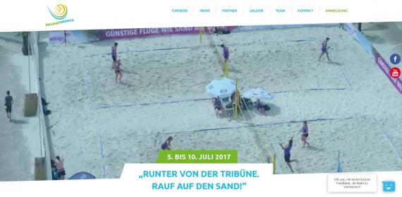 SachsenBeach 2017: Neues Logo, neue Website!